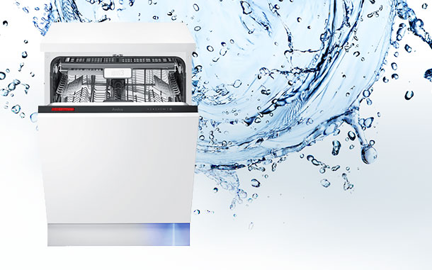 Water and dishwasher – a perfect duo